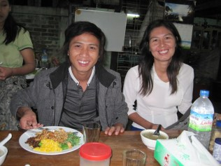 Kyaw Zin und Nwe