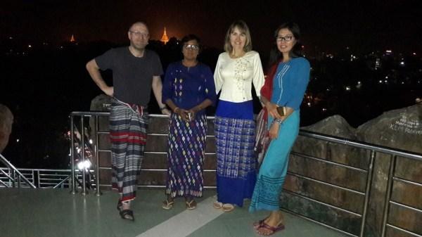 Daw Sandar and Ma Nwe Nwe Aye, Ko Walter and Ma Doris