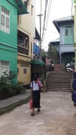 in den Strassen Kawthaungs