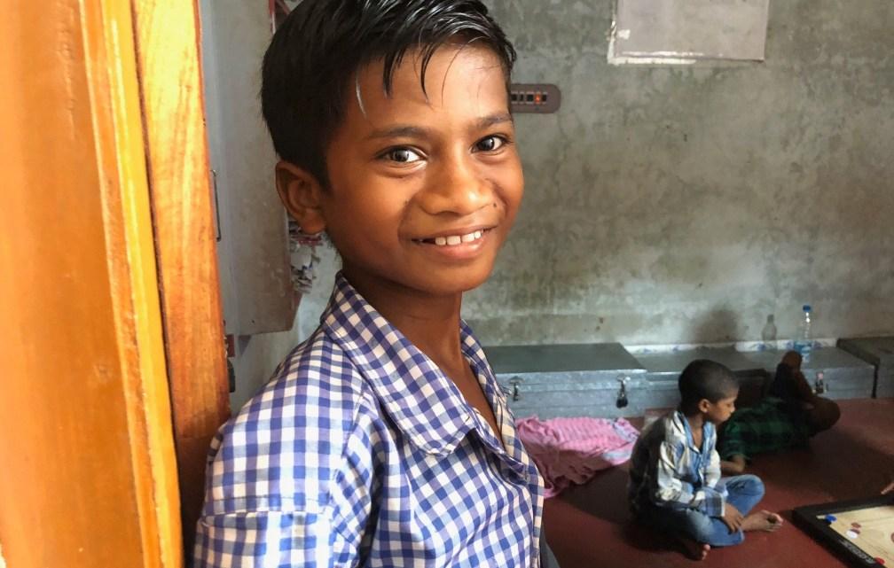 Besuch im Waisenhaus in Odisha