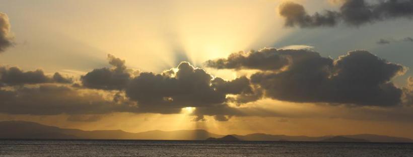 Sonnenuntergang am Ozean