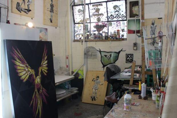 Künstleratelier in Australien