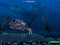 T4 Funeral ist ein Clone des Spiele-Klassikers Turrican