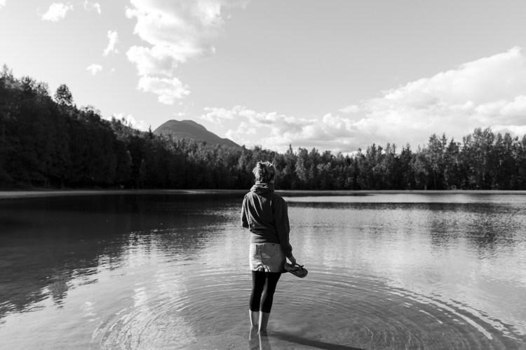 Lake at Blanket Creek Provincial Park