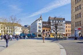 Bahnhofplatz in Aachen