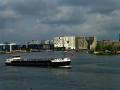 Amsterdam - Frachtschiff