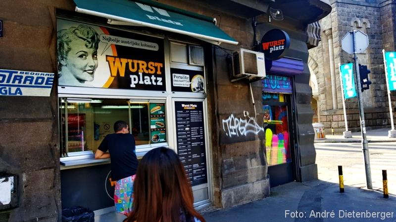 Belgrad - Wurst Platz