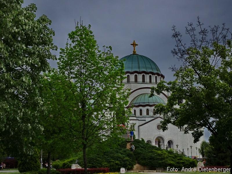 Belgrad - Saint Sava Church