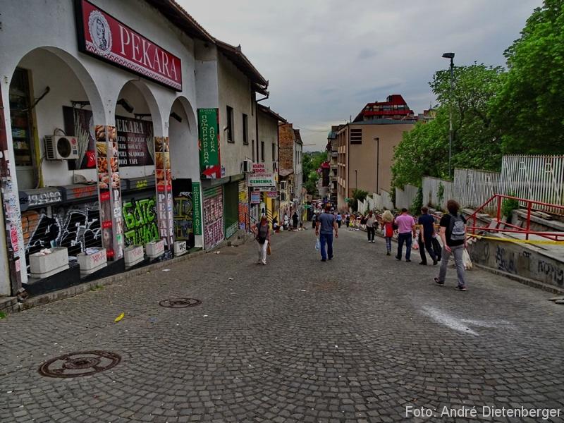 Belgrad - Straße