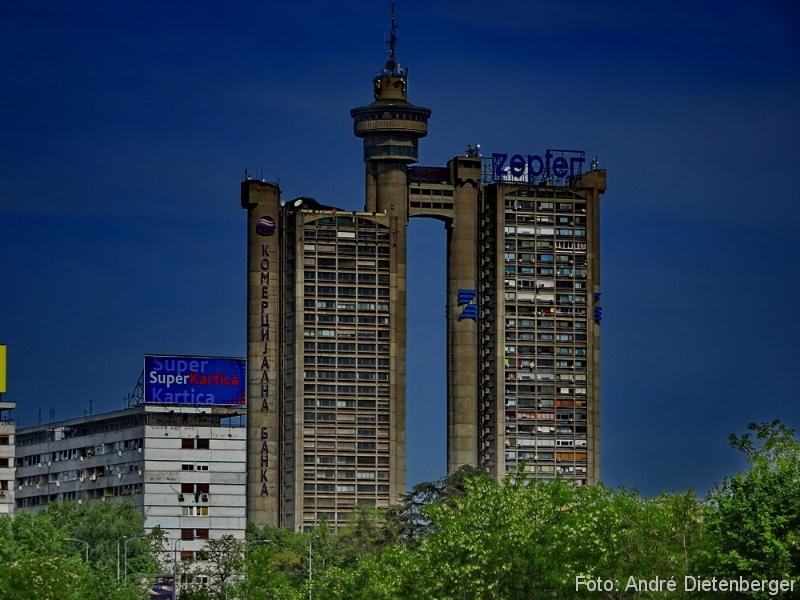 Belgrad - TV Tower