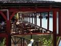 Belgrad - Restaurant mit Terrasse zur Save