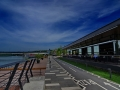 Belgrad - Waterfront Restaurant mit Promenade