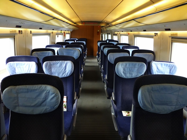 ICE Großraumwagen 2. Klasse