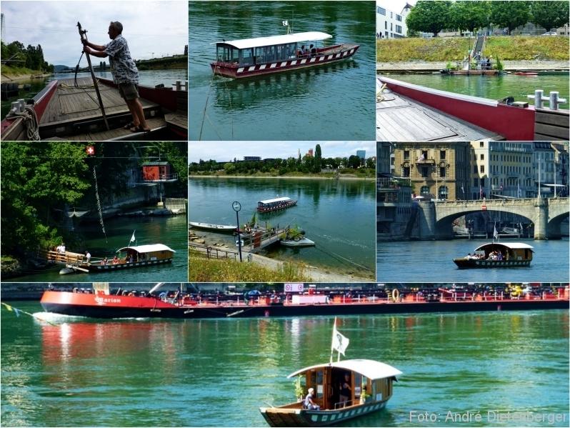 Basel - Rheinfähre