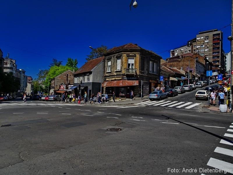 Belgrad - auf dem Weg zur Knez Mihailova