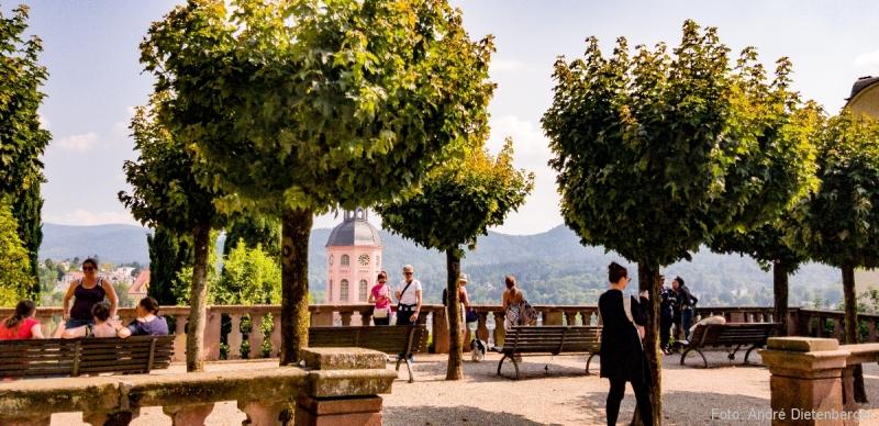 Aussichtsterrasse am Neuen Schloss