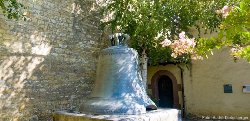 Schaffhausen - Kloster Allerheiligen Schiller Glocke