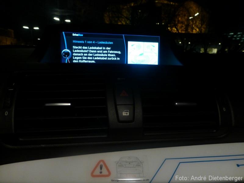 DriveNow ActiveE Berlin Ladeanleitung