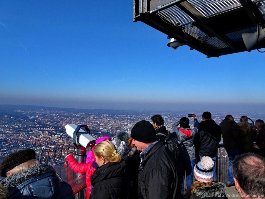 Fernsehturm - Aussichtsplattform unten