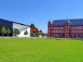 Karlsruhe - Bibliothek der Hochschule für Musik und Schloss Gottesaue