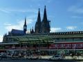 Köln - Dom und Hauptbahnhof