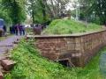 Lunette 41, Außenmauer