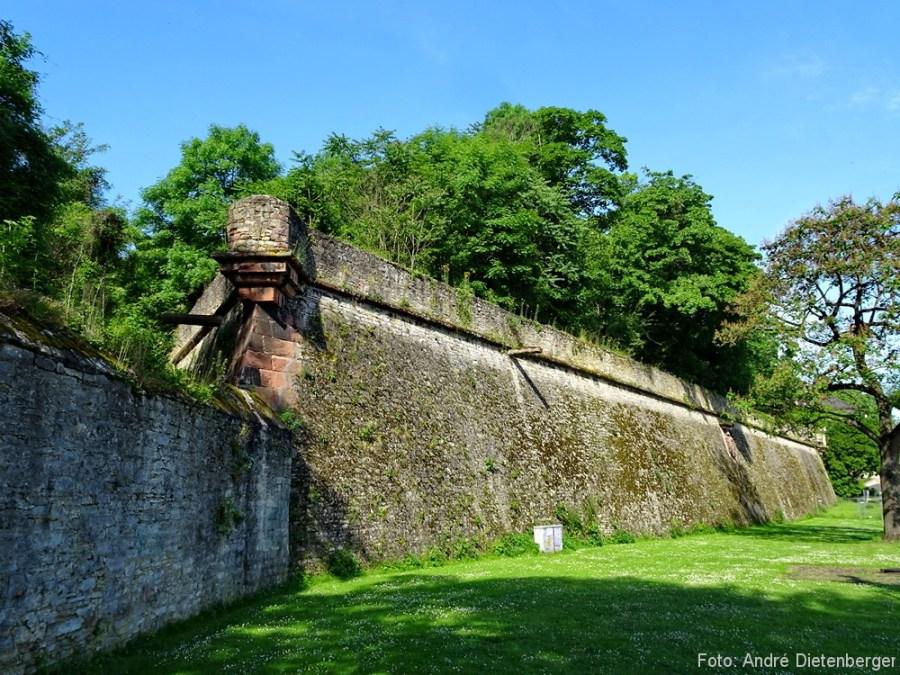 Zitadelle Außenmauern