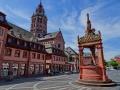 Marktbrunnen (Renaissance) mit Dom