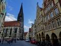 Münster - Prinzipalmarkt und Lambertikirche