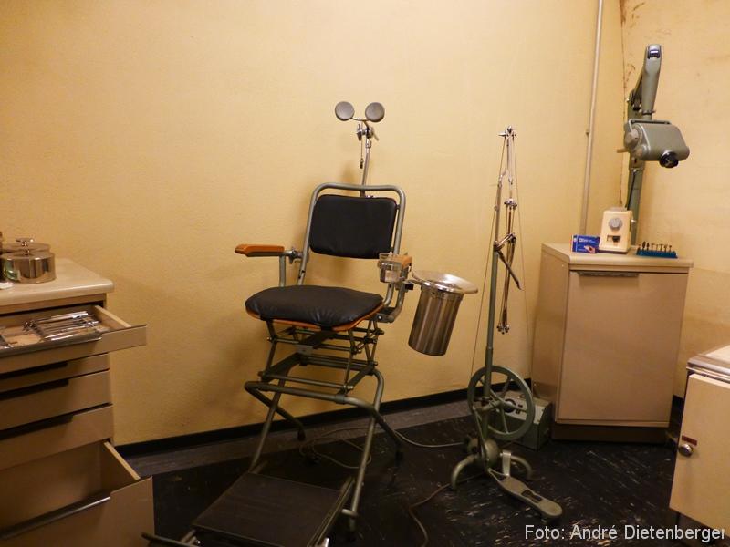 Dokumentationsstätte Regierungsbunker Zahnarzt