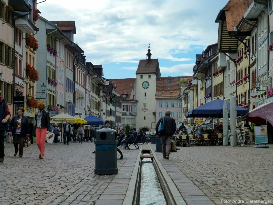 Kaiserstraße - Blick aufs Untere Tor