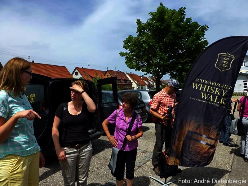 Whisky Walk - Start Bahnhof Owen