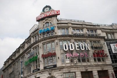 Utesteder, restauranter og kinoer. Det gamle avistrykkeriet er nå underholdning som går under navnet The Printworks.