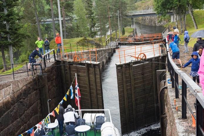 Telemarkskanalen - Vrangfoss sluser