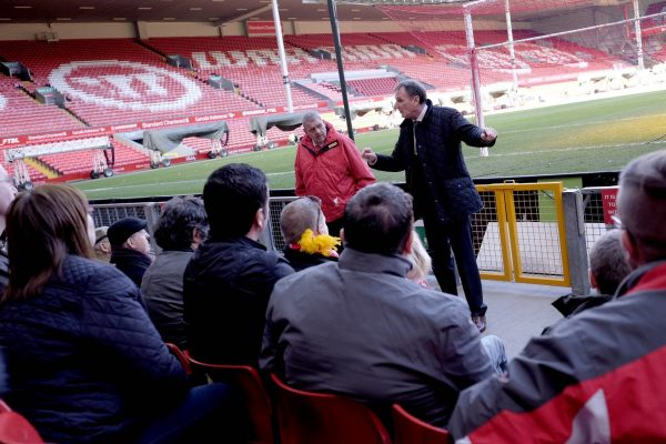 Legends Tour Anfield with Phil Thompson Liverpool-tur