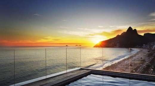 4: Ukens hotell – Sol Ipanema Hotel i Rio de Janeiro