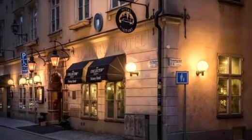 16: Ukens hotell – Victory Hotel i Stockholm