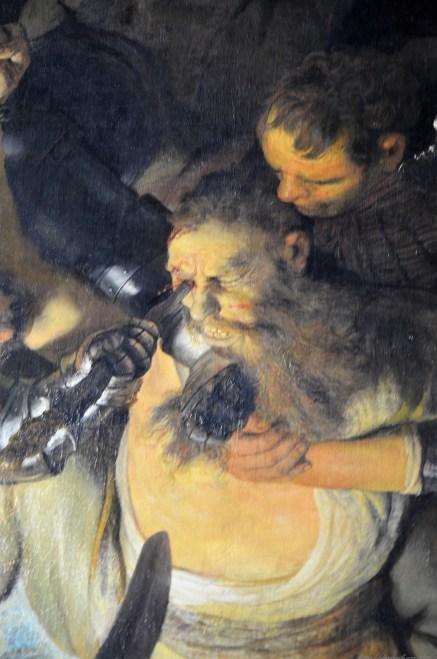 Rembrandt von Rijn - Die Blendung Simons (1636)