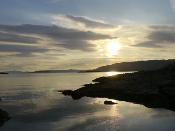 Sonnenuntergang an der Isle of Skye