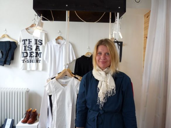 Annika Axelsson in ihrem Göteborger Laden