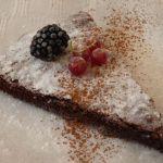 Schnelle schwedische Kuchen-Freude: Kladdkaka