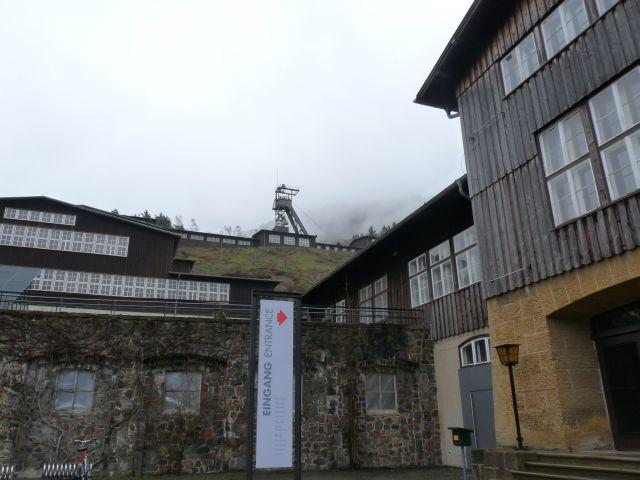 Das Bergwerk am Hang