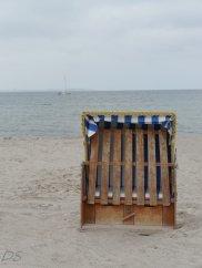 Ostsee-Strandkorb vor der Saison
