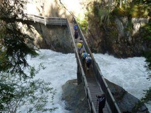 Ötztal Österreich Gletscherfluss