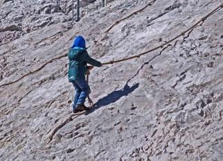 Zugspitze ist genial für Kids