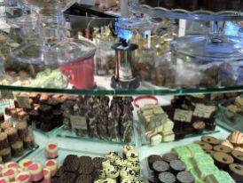 Paradies für Schokofreaks: Pralinboden in der Haga Nygata