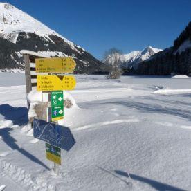 Schneeschuhwandern im Lechtal