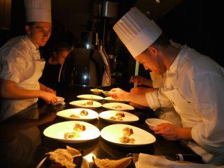 Junge Köche kreieren die Nordische Cuisine