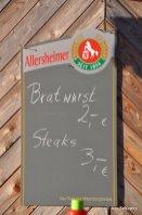 Bratwurst Schild