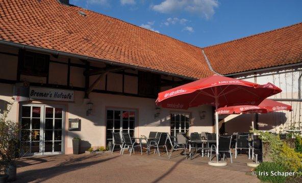 Bremers Hofcafe Außenansicht